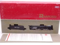 N Gauge: American Outline: A RIVAROSSI Challenger 4-6-6-4 steam locomotive in Union Pacific Livery -