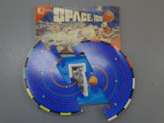 A vintage official SPACE:1999 board game by OMNIA - unchecked but appears complete - G in