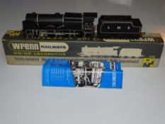 OO Gauge Model Railways: A WRENN W2261 Royal Scot Class steam locomotive in LMS black livery '