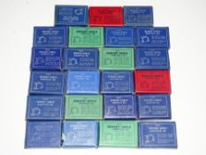 OO Gauge Model Railways: A group of various HORNBY DUBLO control switches - G in G boxes (23)