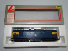 OO Gauge Model Railways: A LIMA Class 26 Diesel locomotive in BR blue livery numbered 26027 - VG