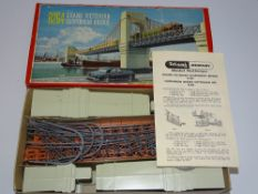 OO Gauge Model Railways: A TRI-ANG R264 Grand Victorian Suspension Bridge kit - appears complete -