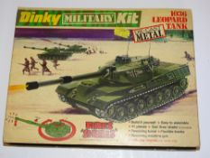 A DINKY 1036 LEOPARD TANK Military Kit - complete and unused - VG in G box