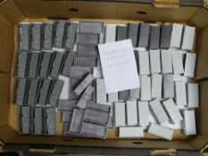 OO Gauge Model Railways: A large tray of WRENN wagon bodies including Mineral wagons; Cattle vans