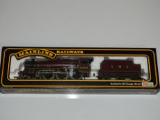 OO Gauge Model Railways: A MAINLINE Jubilee Class steam locomotive in LMS maroon livery '