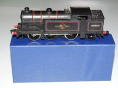 OO Gauge Model Railways: A HORNBY DUBLO 2217 2-rail Class N2 Steam tank locomotive in BR black