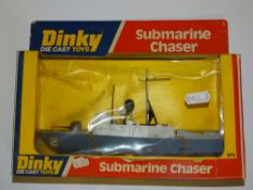A DINKY 673 SUBMARINE CHASER - VG in G box, slight crushing