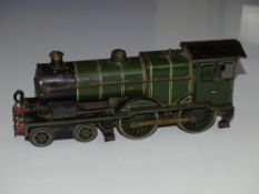 O Gauge Model Railways: A HORNBY SERIES No.2 Special 4-4-0 steam locomotive (loco only no tender)
