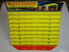 An original MATCHBOX 1-75 Series Cardboard Shop display stand - in superb condition - appears unused