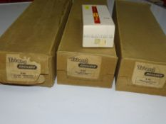 OO Gauge Model Railways: A group of early TRI-ANG embankment pieces in original boxes together