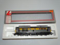 OO Gauge Model Railways: A LIMA Class 31 Diesel locomotive in BR Engineers Dutch Livery numbered