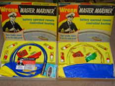 A pair of WRENN Master Mariner Boating Sets (one incomplete) - G/VG in G boxes