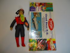 A pair of CAPTAIN SCARLET (Gerry Anderson) toys including a Captain Scarlet talking figure (tested