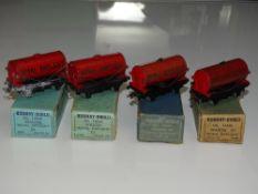 OO Gauge Model Railways: A group of HORNBY DUBLO pre and early post war 'Royal Daylight' 3-rail tank