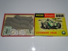A WRENN Formula 152 Slot Car Track Extension Pack - appears complete - VG in G box
