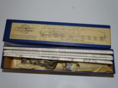 OO Gauge Model Railways: A CRAFTSMAN MODELS Brass and white metal kit for a 'Lord Nelson' Class