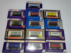 OO Gauge Model Railways: A group of DAPOL wagons as lotted - VG/E in G/VG boxes (13)