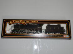 OO Gauge Model Railways: A MAINLINE re-built Patriot Class steam locomotive in LMS black livery 'Sir