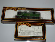OO Gauge Model Railways: A pair of MAINLINE steam tank locomotives comprising a Class 57xx Pannier