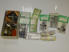 SM32 Scale Model Railways: A quantity of various unbuilt wagon and locomotive kits mostly in SM32