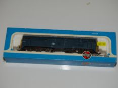 OO Gauge Model Railways: An AIRFIX Class 31 Diesel locomotive in BR blue livery numbered 31401 - G/