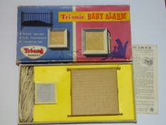 A TRI-ANG TRI-ONIC Baby Alarm set - appears unused - G/VG in F/G box