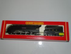 OO Gauge Model Railways: A HORNBY R2092 Coronation Class steam locomotive in LMS black 'City of