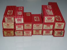 OO Gauge Model Railways: A group of HORNBY DUBLO 2-rail rolling stock as lotted - G in F/G boxes (