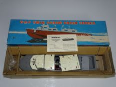 A WRENN RAF VOSPA Crash Tender Boat - as originally produced by VICTORY - but with WRENN boxing