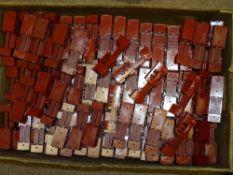 OO Gauge Model Railways: A large quantity of WRENN basic body shells for the Horse Box Van all