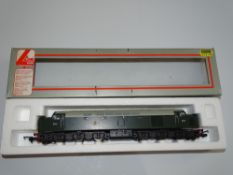 OO Gauge Model Railways: A LIMA Class 40 (Type 4) Diesel locomotive in BR green livery numbered D354