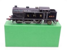 OO Gauge Model Railways: A HORNBY DUBLO EDL7 (converted to 2-rail) N2 class steam tank locomotive in