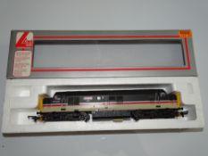 OO Gauge Model Railways: A LIMA Class 37 Diesel locomotive in BR Intercity Livery 'Cwmbran' - VG