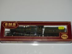 OO Gauge Model Railways: An AIRFIX Castle Class steam locomotive in GWR green 'Caerphilly