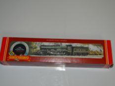OO Gauge Model Railways: A HORNBY R349 King Class steam locomotive in Great Western green livery '