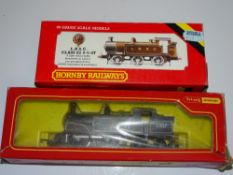 OO Gauge Model Railways: A pair of HORNBY steam tank locomotives comprising an R353 Class E2 in