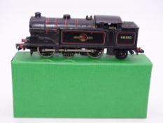 OO Gauge Model Railways: A HORNBY DUBLO 2217 2-rail N2 class steam tank locomotive in BR black
