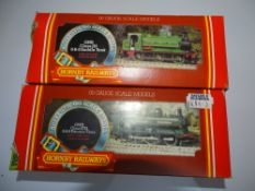 OO Gauge Model Railways: A pair of HORNBY steam tank locomotives comprising an R059 Class 2721