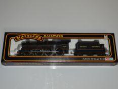 OO Gauge Model Railways: A MAINLINE re-built Patriot Class steam locomotive in BR black livery '