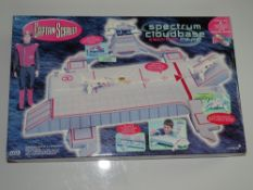 A CAPTAIN SCARLET (Gerry Anderson) SPECTRUM CLOUD BASE electronic play set by VIVID IMAGINATIONS -