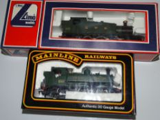 OO Gauge Model Railways: A pair of MAINLINE & LIMA steam tank locomotives comprising a Class 57xx