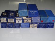 OO Gauge Model Railways: A mixed group of HORNBY DUBLO 3-rail wagons - generally G in F/G boxes (