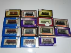 OO Gauge Model Railways: A group of DAPOL wagons as lotted - VG/E in G/VG boxes (14)