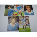 AUTOGRAPHS: 1980S/2000S FOOTBALLERS - MANCHESTER CITY FOOTBALL CLUB: A selection of 5 autographed