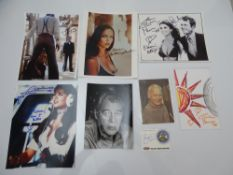 AUTOGRAPHS: JAMES BOND: THE SPY WHO LOVED ME: A group of autographs - mainly signed photographs to