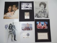 AUTOGRAPHS: JAMES BOND: THUNDERBALL: A group of autographs - mainly signed photographs to include: