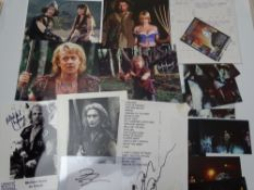 XENA WARRIOR PRINCESS: A large selection of memorabilia to include various items and photographs