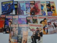 A quantity of CINEFANTASTIQUE magazines - circa 1978 to 1991 - Covering films including JAMES BOND