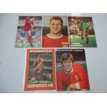 AUTOGRAPHS: 1960S /1980S FOOTBALLERS - LIVERPOOL FOOTBALL CLUB: A selection of 5 autographed