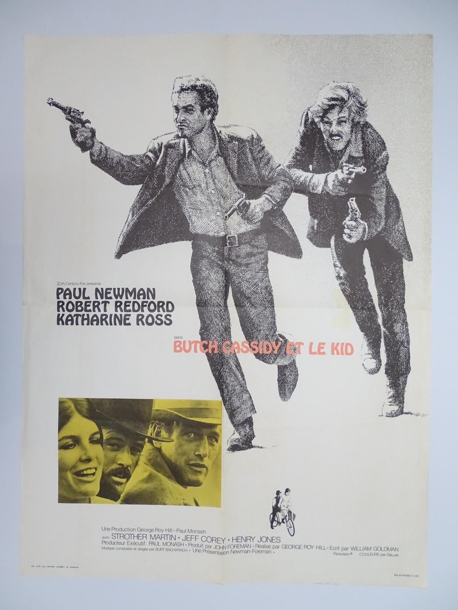 BUTCH CASSIDY ET LE KID (BUTCH CASSIDY AND THE SUNDANCE KID) (1970) - French Moyenne Movie